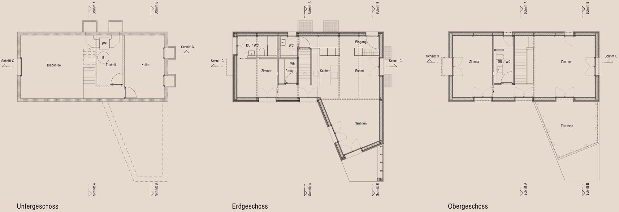 Ausfuhrung 2016 2017 Neues Kompaktes Wohnhaus